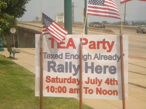 TEA Party in Fort Smith, Arkansas!
