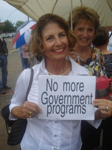 No More Government Programs!